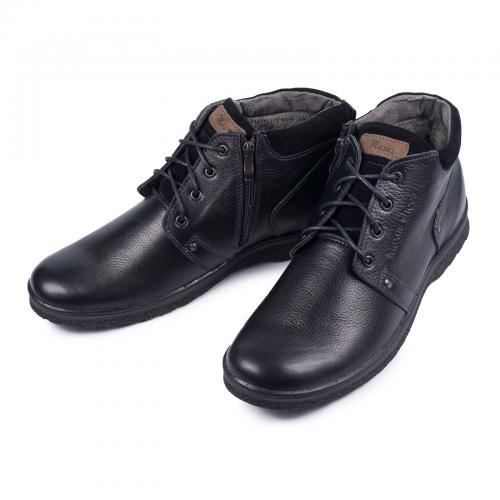 Ботинок 82 черная кожа