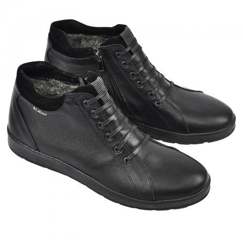 Ботинок Рекс 2 черная кожа