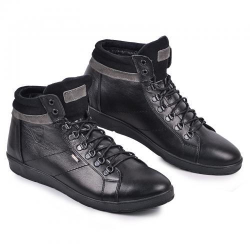 Ботинок Фози 2 черная кожа